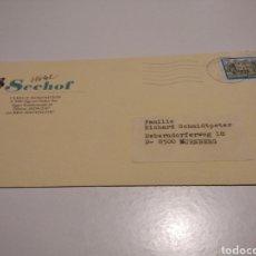 Sellos: SOBRE HOTEL SEEHOF AUSTRIA. Lote 236805110