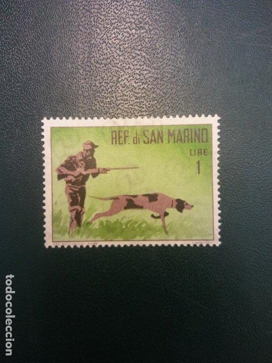 SELLOS. REPUBBLICA DI SAN MARINO (Sellos - Historia Postal - Sellos otros paises)