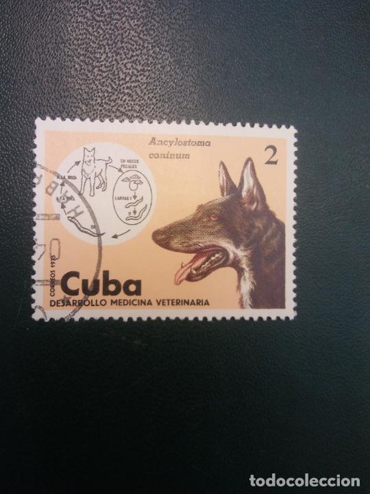 SELLOS. CUBA. DESARROLLO MEDICINA VETERINARIA (Sellos - Historia Postal - Sellos otros paises)