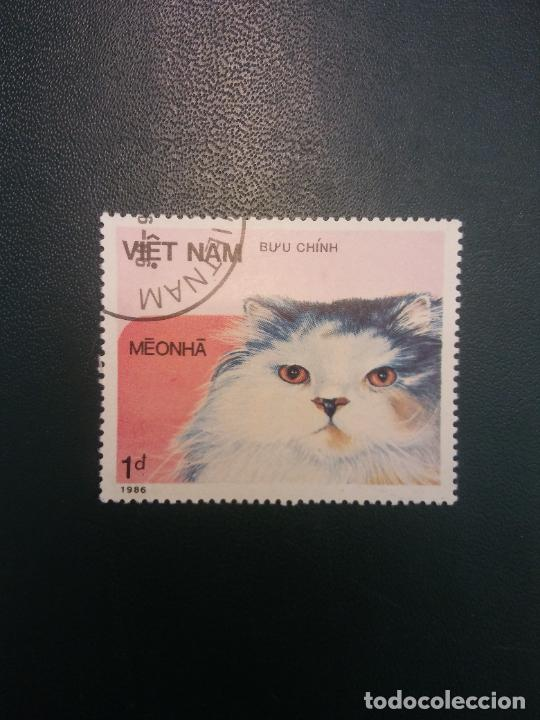 SELLOS. VIETNAM. BUU CHINH. MEONHA (Sellos - Historia Postal - Sellos otros paises)
