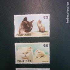 Sellos: SELLOS. FILIPINAS. CATS. Lote 243592880