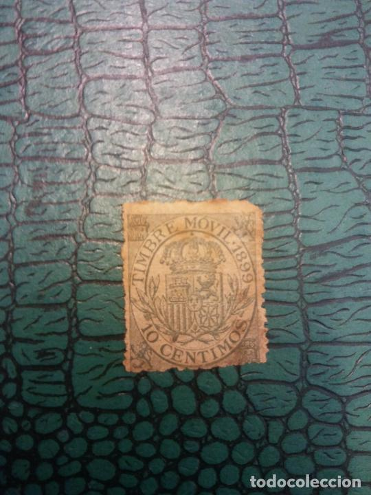 SELLOS. TIMBRE MÓVIL 1899. 10 CÉNTIMOS (Sellos - Historia Postal - Sellos otros paises)