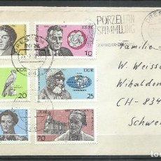 Sellos: SOBRE ALEMANIA DDR - MICHEL 2492/2497. Lote 244194705