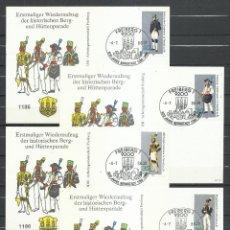 Sellos: TARJETAS ALEMANIA DDR - MICHEL 2318/2321. Lote 244194865