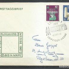Sellos: SOBRE ALEMANIA DDR - MICHEL 1254/1255. Lote 244195080