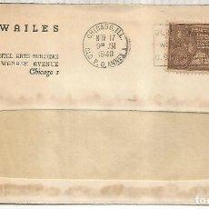 Sellos: ESTADOS UNIDOS USA CHICAGO 1948 CC INDIAN CENTENNIAL NATIVOS. Lote 246081035