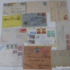Sellos: HISTORIA POSTAL SUBAMERICA A EUROPA ALEMNIA, HOLANDA -. Lote 246928980