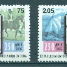 Sellos: ⚡ DISCOUNT CUBA 2006 THE 250TH ANNIVERSARY OF THE ESTABLISHMENT OF CUBAN POSTAL SERVICE MNH. Lote 253842085