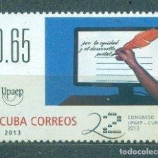 Sellos: ⚡ DISCOUNT CUBA 2013 UPAEP CONGRESS - HAVANA, CUBA MNH - POST OFFICE, POST SERVICES, UNIVERS. Lote 253843845