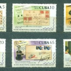 Sellos: ⚡ DISCOUNT CUBA 2015 THE 50TH ANNIVERSARY OF POSTAL MUSEUM JOS? L. GUERRA AGUIAR MNH - STAMP. Lote 253844495