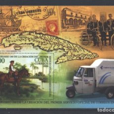 Sellos: ⚡ DISCOUNT CUBA 2016 THE 260TH ANNIVERSARY OF POSTAL DELIVERY IN CUBA MNH - STAMPS ON STAMPS. Lote 253845690