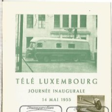 Sellos: LUXEMBURGO 1955 TELE LUXEMBOURG TELECOM TV TELEVISION. Lote 254420015