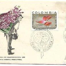 Sellos: ORQUIDEAS. SPD. COLOMBIA 1972. Lote 254513095