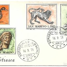 Sellos: ARTE ETRUSCO. SPD. SAN MARINO 1971. Lote 254700560