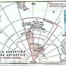 Sellos: CONQUISTA DEL ESPACIO. TARJETA. ARGENTINA 1966. Lote 254974845