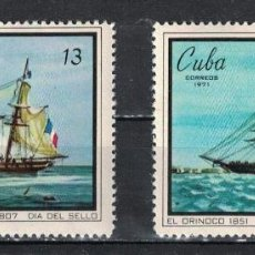 Sellos: ⚡ DISCOUNT CUBA 1971 STAMP DAY MNH - SHIPS, STAMP DAY, SAILBOATS. Lote 257572545