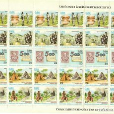 Sellos: ⚡ DISCOUNT CUBA 1986 THE LATIN AMERICAN HISTORY. PRE-COLUMBIAN CULTURE MNH - STAMPS ON STAMP. Lote 257572880