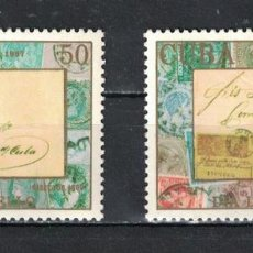 Sellos: ⚡ DISCOUNT CUBA 1987 STAMP DAY MNH - STAMPS ON STAMPS, STAMP DAY. Lote 257572905