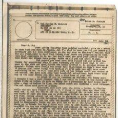 Sellos: ESTADOS UNIDOS USA WW2 V-MAIL AIRGRAPH PHOTOGRAPHY CHENEYVILLE LOUSIANA. Lote 262053790