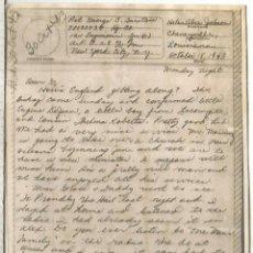 Sellos: ESTADOS UNIDOS USA WW2 V-MAIL AIRGRAPH PHOTOGRAPHY CHENEYVILLE LOUSIANA. Lote 262054725