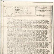 Sellos: ESTADOS UNIDOS USA WW2 V-MAIL AIRGRAPH PHOTOGRAPHY CHENEYVILLE LOUSIANA. Lote 262055015