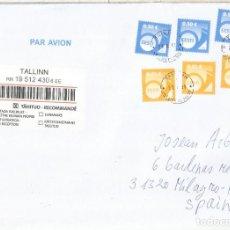 Sellos: ESTONIA EESTI CC CERTIFICADA 2011. Lote 262995655