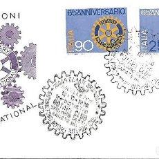 Sellos: ROTARY INTERNACIONAL. 65 ANIVERSARIO. SPD ITALIA 1970. Lote 269296638