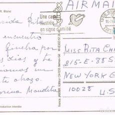 Sellos: SUIZA, UNA TARJETA ILUSTRADA ES SEÑAL DE AMISTAD, RODILLO DE 31-7-1987. Lote 269715513