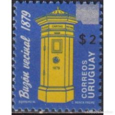 Sellos: ⚡ DISCOUNT URUGUAY 2007 HISTORIC URUGUAY - ISSUE 1994 SURCHARGED MNH - MAIL HISTORY. Lote 274790753