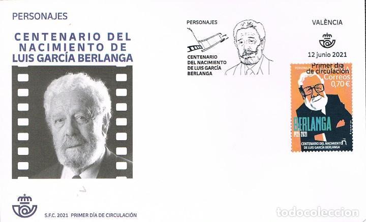 CENTENARIO DE BERLANGA, CINE, PRIMER DIA DE 12-6-2021 (Sellos - Historia Postal - Sellos otros paises)