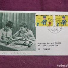 Francobolli: BÉLGICA, SOBRE PRIMER DÍA DE EMISIÓN, 1970. Lote 287719388