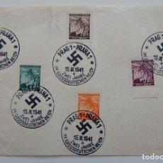 Sellos: REPÚBLICA CHECA 1941 / 2º ANIVERSARIO DEL GRAN IMPERIO ALEMÁN / PRAG 1 - PRAHA 1 ZWEI JAHRE IM GR.... Lote 287263768