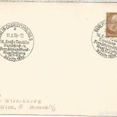 Sellos: ALEMANIA 3 REICH BERLIN 1939 EXPOSICION DE RADIO TELECOM. Lote 288137103