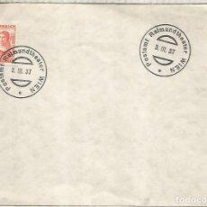 Sellos: AUSTRIA WIEN 1937 MAT POSTAMT RAIMUNDTHEATER TEATRO ARTE. Lote 288143703