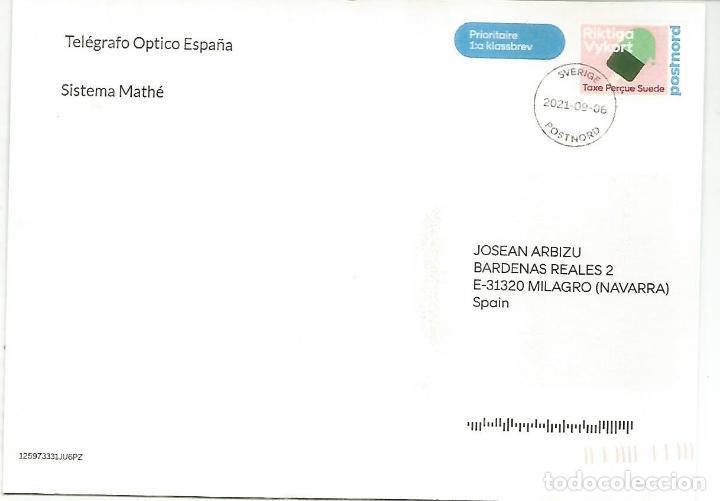 Sellos: SUECIA ENTERO POSTAL INICIATIVA PRIVADA STATIONERY CARD GRAF ZEPPELIN SOBRE MADRID - Foto 2 - 288144303