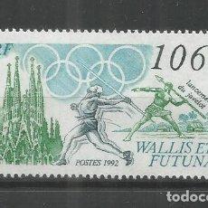 Sellos: WALLIS ET FUTUNA JUEGOS OLIMPICOS DE BARCELONA 92 OLYMPIC GAMES. Lote 288696513