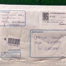 Sellos: SOBRE CIRCULADO CON SELLOS Y MATASELLO - ITALIA - FRANQUEO MECANICO. Lote 289848283