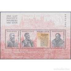 Sellos: ⚡ DISCOUNT POLAND 2008 THE 450TH ANNIVERSARY OF POLISH POST MNH - MAIL HISTORY. Lote 289986818