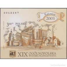 Sellos: ⚡ DISCOUNT POLAND 2003 THE 19TH NATIONAL PHILATELIC EXHIBITION - KATOWICE 2003 MNH - PHILATE. Lote 289986868