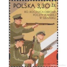 Sellos: ⚡ DISCOUNT POLAND 2019 THE 80TH ANNIVERSARY OF THE DEFENSE OF THE POLISH POST IN GDAŃSK MNH. Lote 289987168