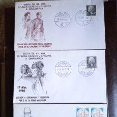 Sellos: SOBRES CONMEMORATIVO REY JUAN CARLOS I. Lote 293626678