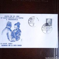 Sellos: SOBRE CONMEMORATIVO REY JUAN CARLOS I. Lote 293628098
