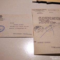 Sellos: SOBRE DIRECCIÓN GENERAL DE CORREOS, SERVICIO FILATÉLICO, VIGO. Lote 293842803