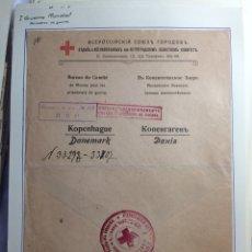 Sellos: SOBRE CIRCULADO CRUZ ROJA I GUERRA MUNDIAL. PRISIONEROS DE GUERRA. RUSIA.. Lote 295274968