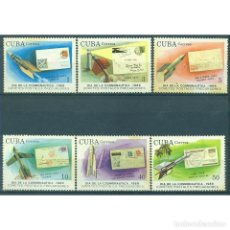 Sellos: ⚡ DISCOUNT CUBA 1989 COSMONAUTICS DAY - ROCKET POST MNH - STAMPS ON STAMPS, ROCKETS, POST SE. Lote 295941233