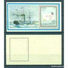 """Sellos: ⚡ DISCOUNT CUBA 1990 STAMP WORLD """"LONDON '90"""" THE INTERNATIONAL STAMP EXHIBITION MNH - SHIPS. Lote 295941498"""