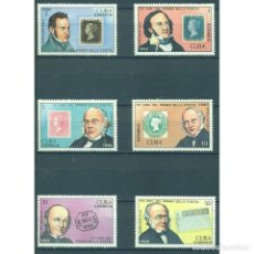 Sellos: ⚡ DISCOUNT CUBA 1990 THE 150TH ANNIVERSARY OF THE PENNY BLACK MNH - STAMPS ON STAMPS, MAIL H. Lote 295941513