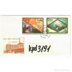 Sellos: ⚡ DISCOUNT FDC 1988 STAMP DAY U - STAMP DAY, FDC CUBA. Lote 295948678