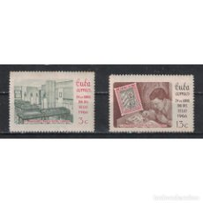 Sellos: ⚡ DISCOUNT CUBA 1966 STAMP DAY NG - STAMPS ON STAMPS, STAMP DAY. Lote 295953653