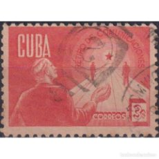 Sellos: ⚡ DISCOUNT CUBA 1944 RETIREMENT FUND FOR POSTAL EMPLOYEES U - POST OFFICE, MAIL HISTORY. Lote 295961318